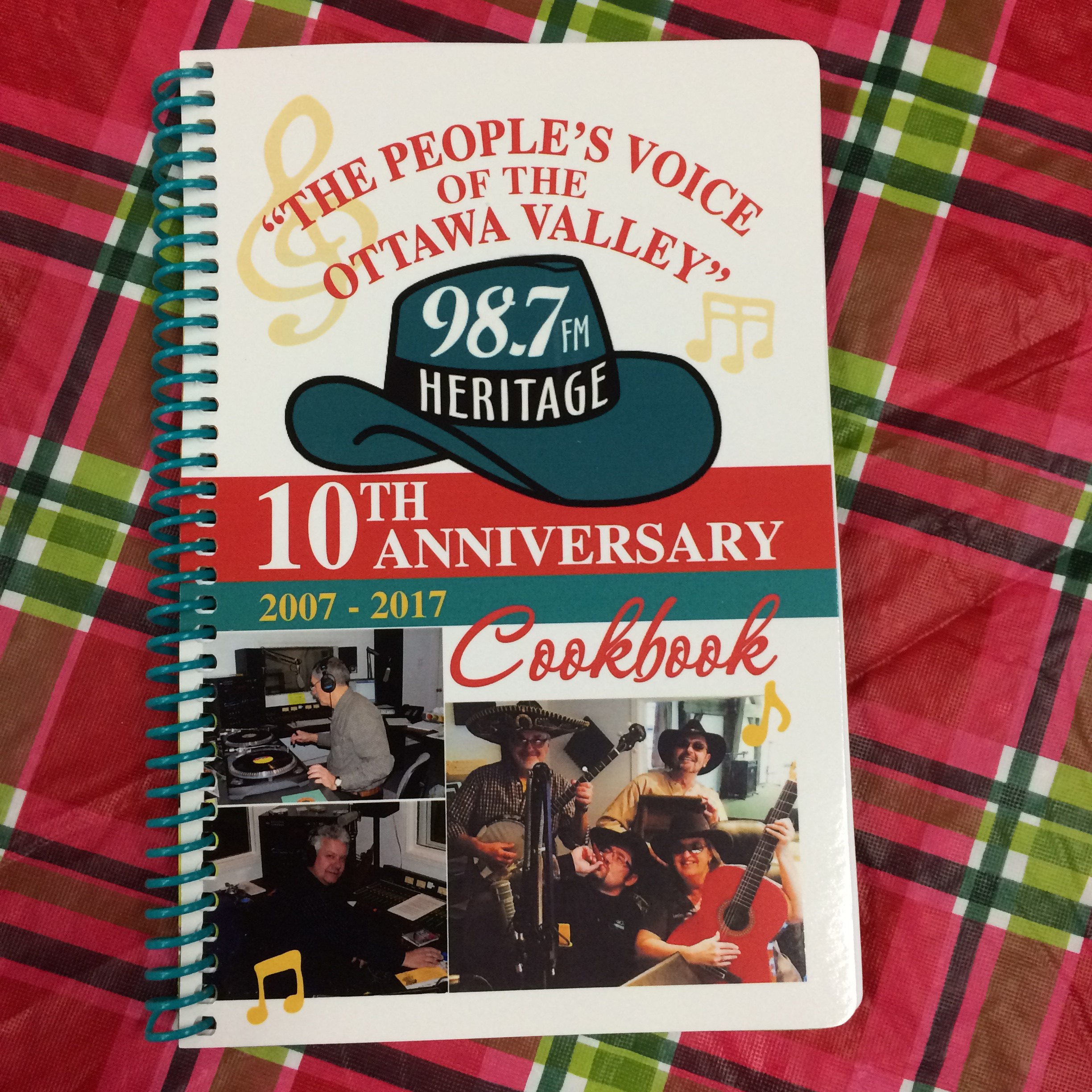 Valley Heritage Radio 10th Anniversary Cook Book