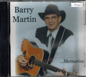 Barry Martin Memories Front