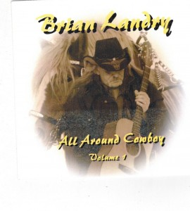 Brian Landry All Around Cowboy Front
