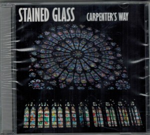 Carpenter's Way Stained Glass Front