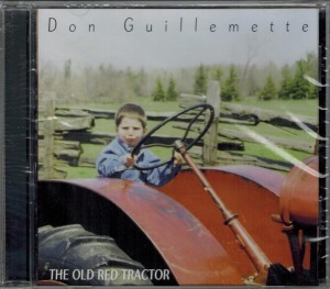 Don Guillemette The Old Red Tractor Front