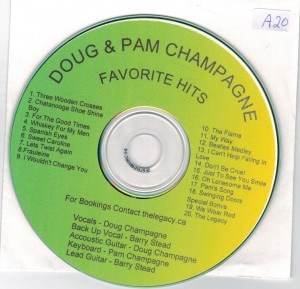 Doug & Pam Champagne Favorite Hits
