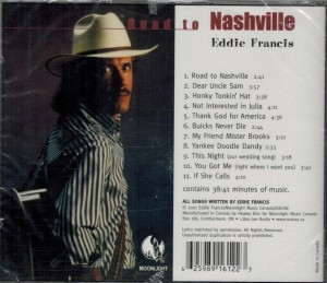 Eddie Francis Road To Nashville Back