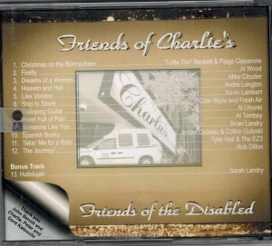 Friends of Charlie's Friends of The Disabled Back