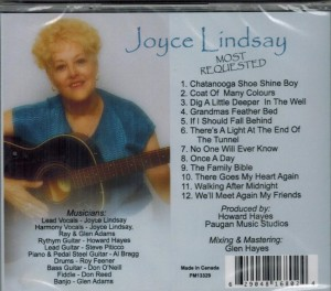 Joyce Lindsey Most Requested Back