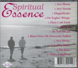 Karen Lynch & Paul Redmond Spiritual Essence Back