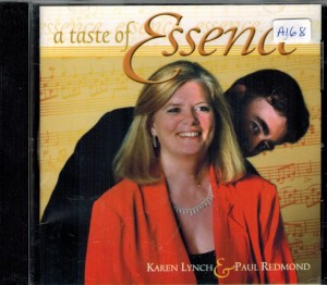 Karen Lynch & Paul Redmond Taste of Essence Front