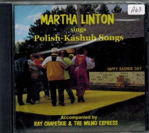 Martha Linton Sings Polish Kashub Songs Front