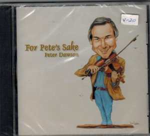Peter Dawson For Pete's Sake Front