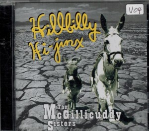 The McGillicuddy Sisters Hibilly Hijinx Front