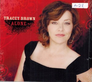 Tracy Brown Alone Front