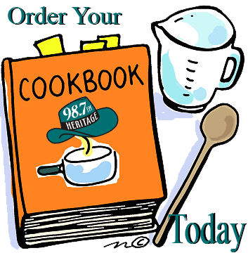 Order your VHR 10th Anniversary Cookbook Today