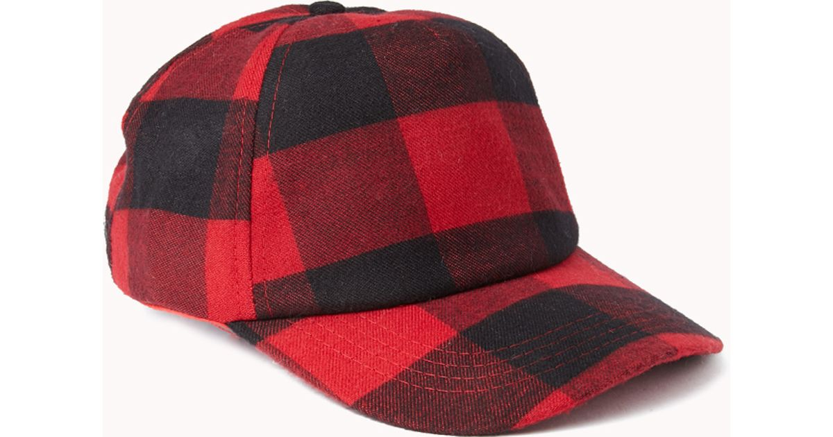 CAP - RED & BLACK PLAID...COMING SOON (MAY)